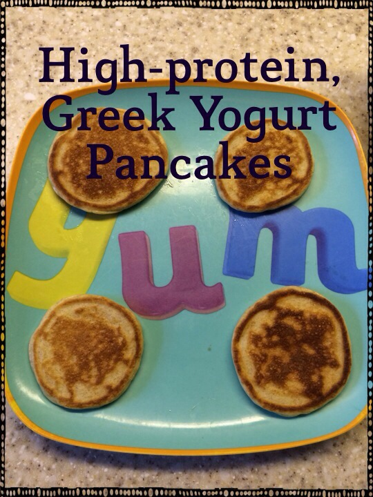 20131203 211342 High Protein, Greek Yogurt Pancake Recipe